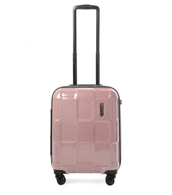 Trolley S 4R 55cm crystalROSE