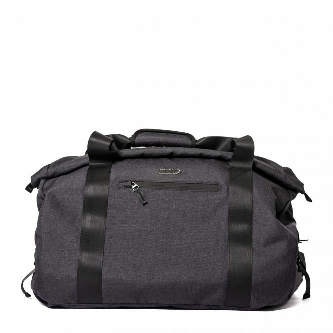 Rolltop-Reisetasche Black