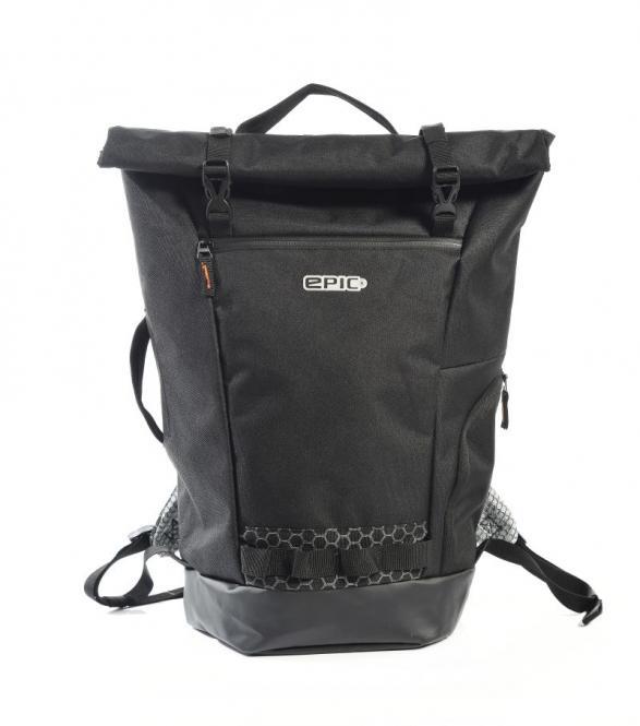 Commuter Rolltop Backpack black