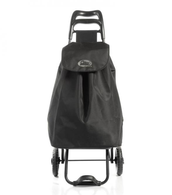Shopping Trolley Black