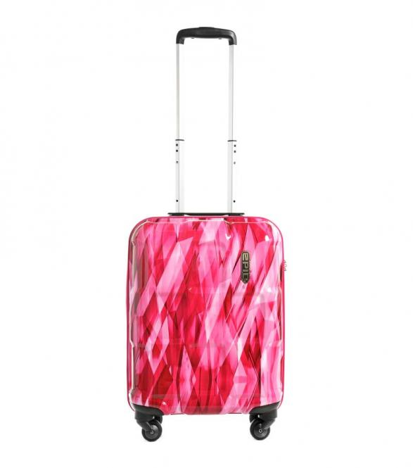 Trolley S 55cm 4w diamond Pink