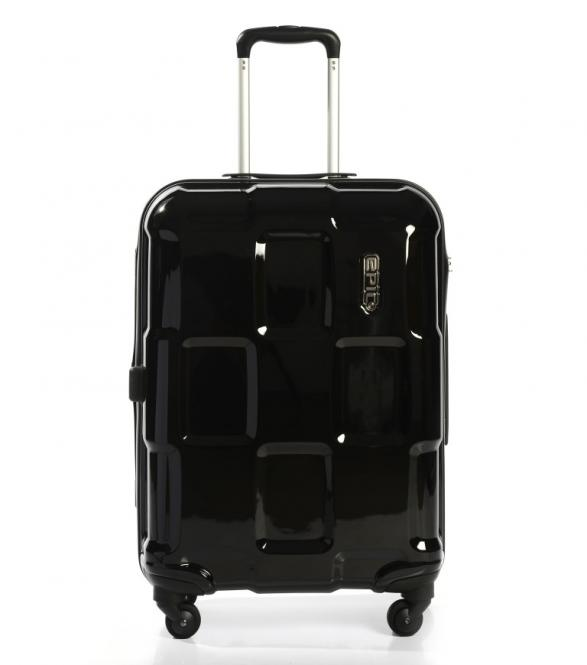 Trolley M 66cm 4w Expandable blackMETAL