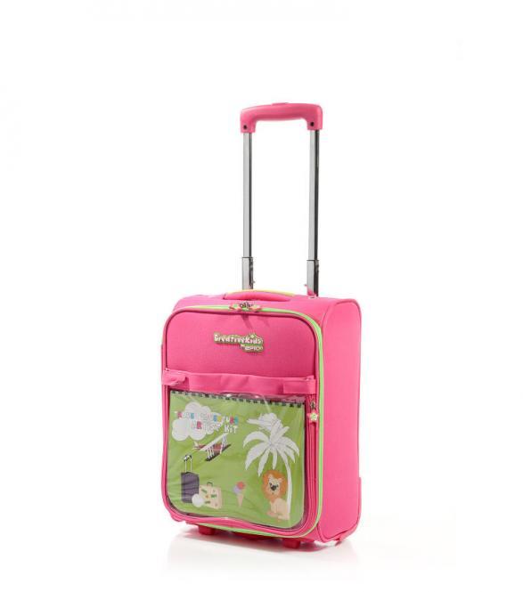Trolley 45 cm 2 Rollen Pink