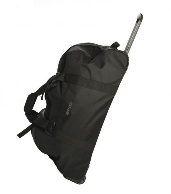große Rollenreisetasche black