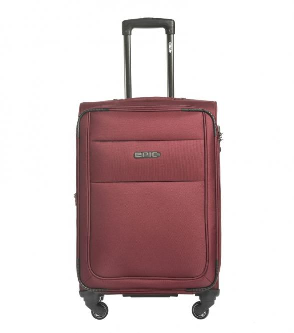 67cm Trolley 4w burgundy RED