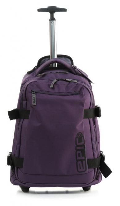 Backpack Trolley Slim 54cm purple