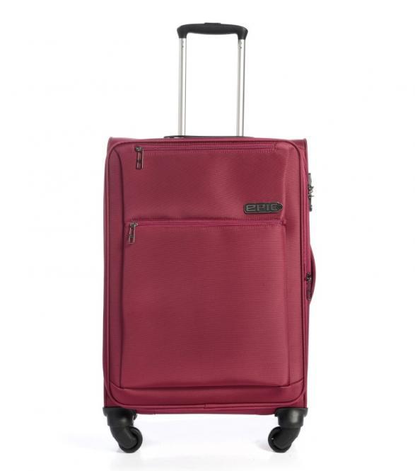 Trolley 67cm 4w exp red