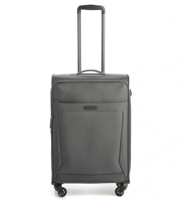 65cm Trolley 4w erweiterbar Grey