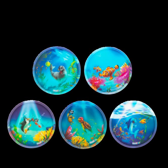 Klettie-Set matt, 5-teilig 2020 Unterwasserfreunde