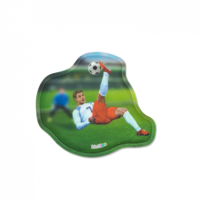 Kontur-Klettie Fußballstürmer