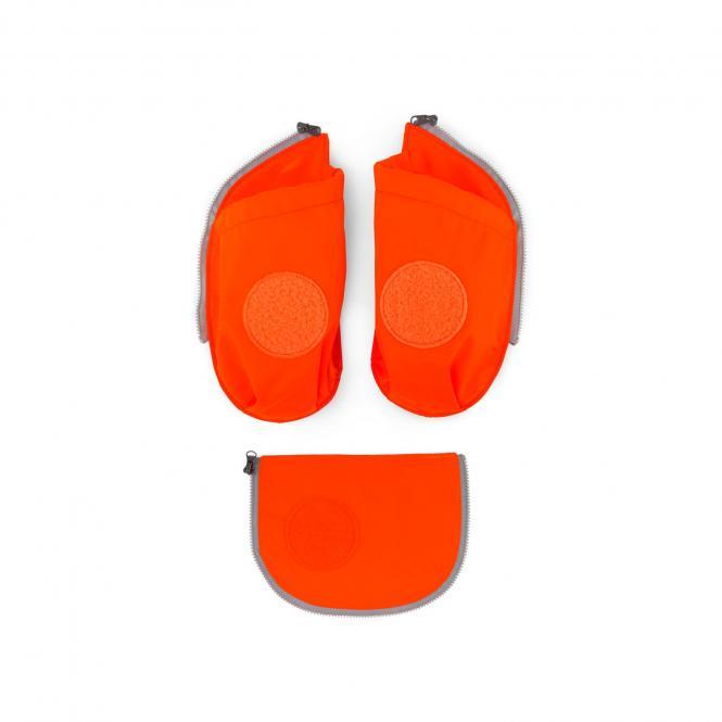 cubo Seitentaschen Zip-Set, 3-tlg. 2019 orange