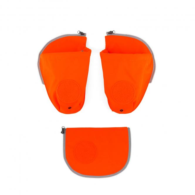 pack Seitentaschen Zip-Set, 3-tlg. orange