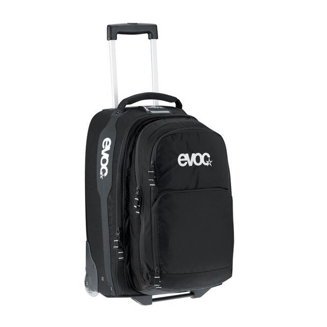 Terminal Bag M mit 2 in 1 Rucksack Black
