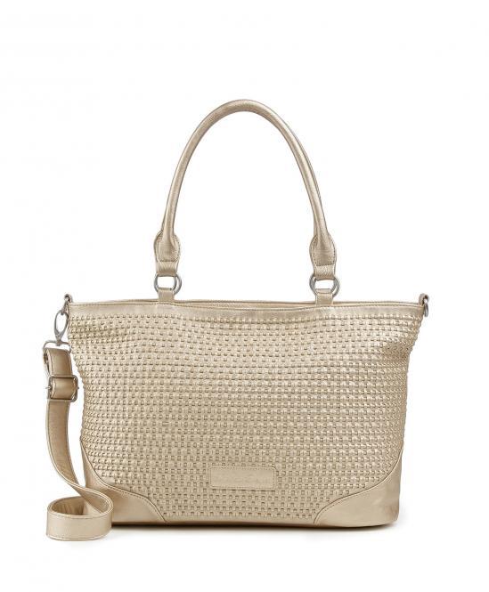 Handtasche Carmina gold