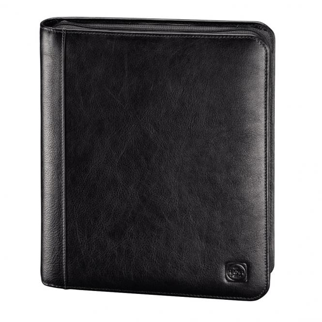 "Tuesday Lederorganizer A5 mit Tablet-Hülle 10.1"" Black"