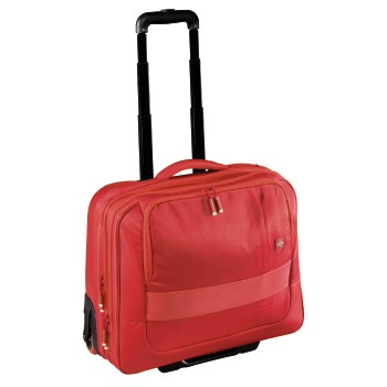 "Business-Trolley Cabin mit Laptopfach 15.6"" Red"