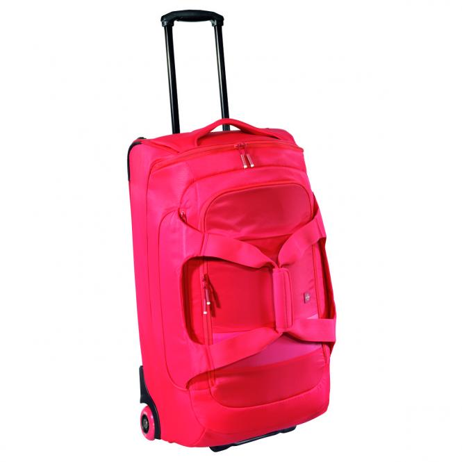 Reisetasche mit Rollen Red