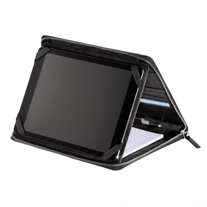 "Monday Lederorganizer A5 mit Tablet-Hülle 10.1"" Black"