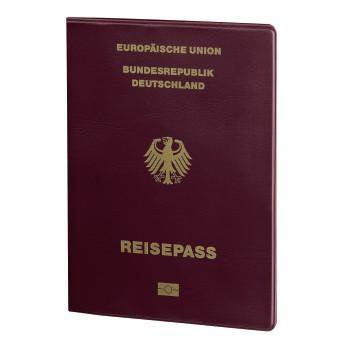 Reisepass und Kreditkarten- Datenschutzhülle mit RFID-Schutz