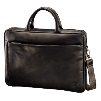 Mathis Ledertasche Dark Brown