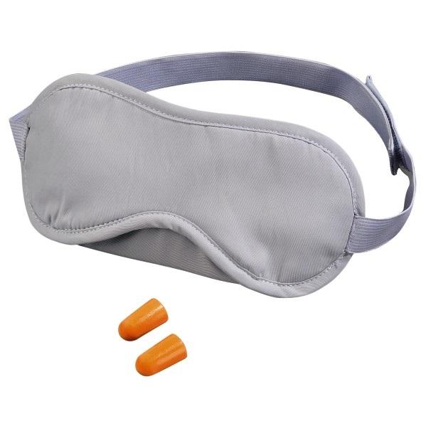 Gepolsterte Schlafmaske mit zwei Ohrstöpseln