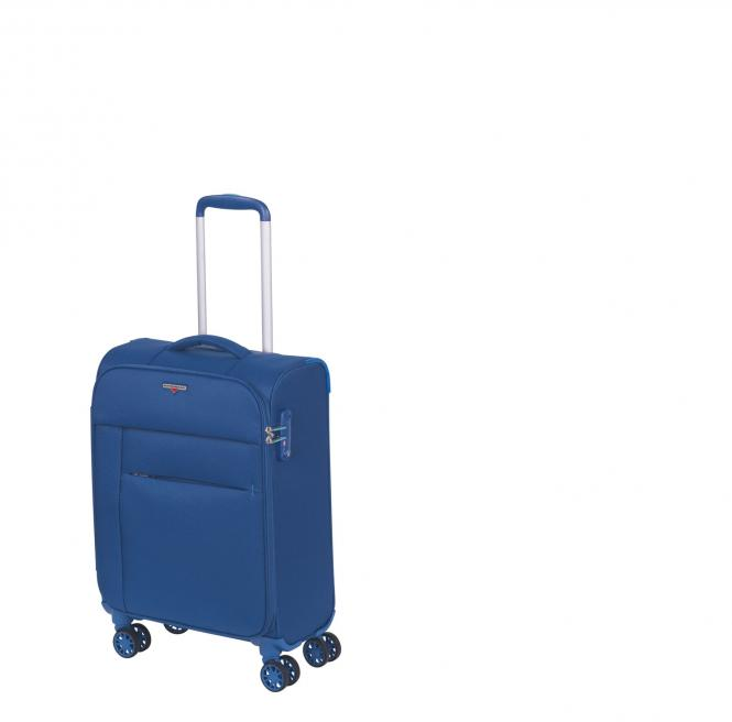 Trolley S Cabin Size 4 Rollen Royal Blue