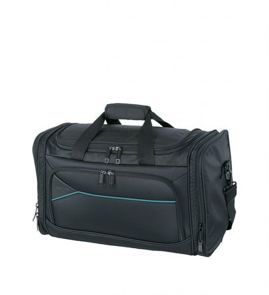 Travelbag S black/petrol