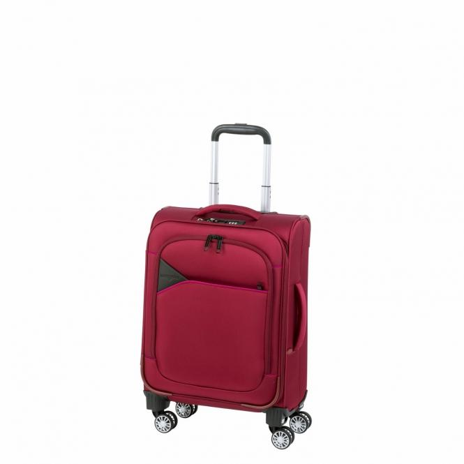 Trolley S 4R 50cm red/fuchsia