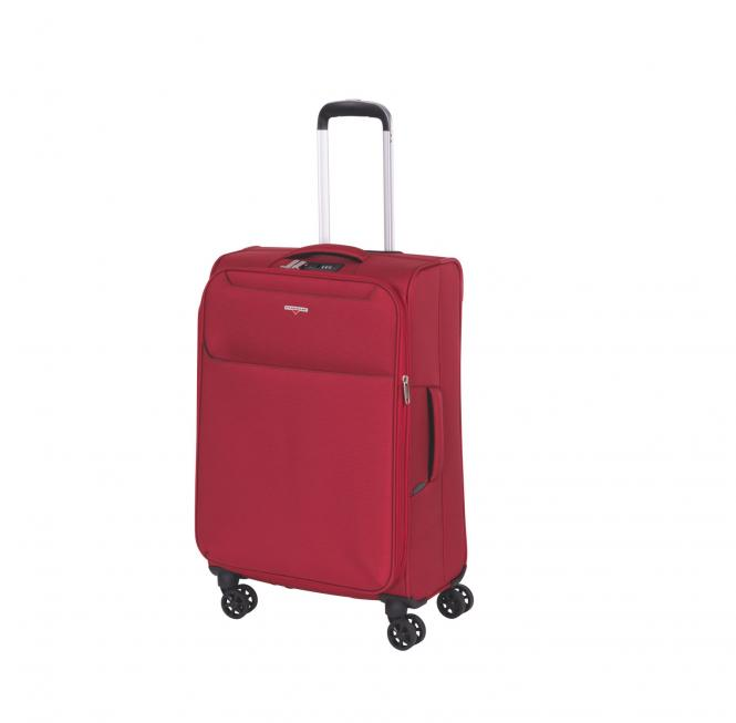 Trolley M 4R 69cm, erweiterbar wine red