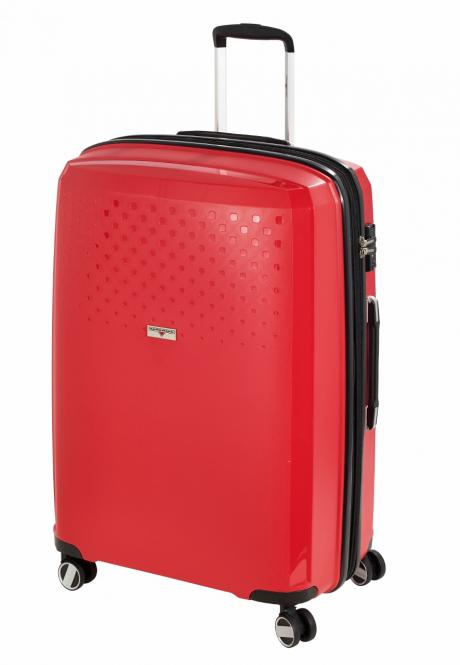 Trolley L, 4 Rollen, Expandable Red