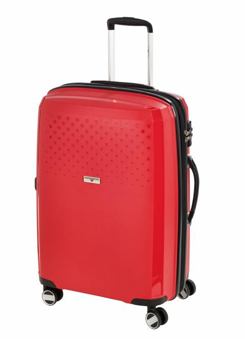 Trolley M, 4 Rollen, Expandable Red