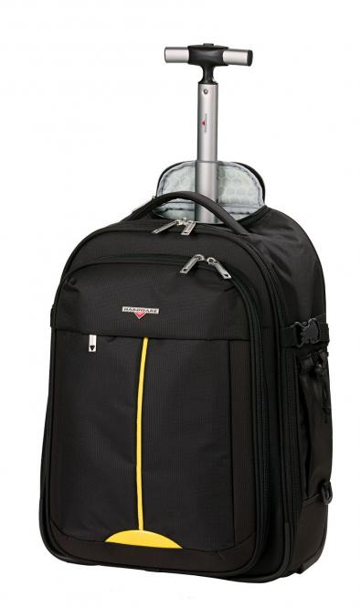 Rucksack-Trolley 2w Black/Yellow