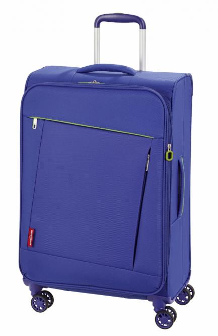 Trolley M 4 Rollen, Expandable Cool Blue