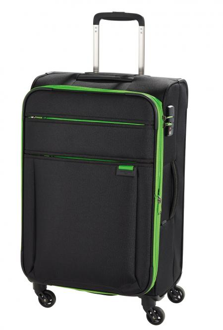 Trolley M 4 Rollen Black/Green
