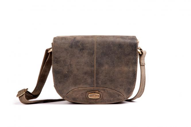 Schultertasche S Taupe