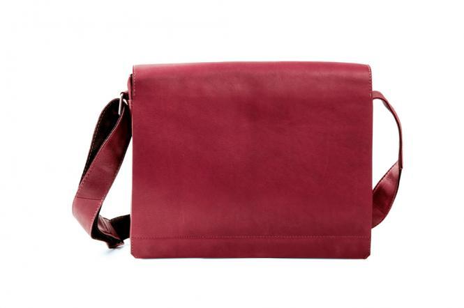 Messengerbag 29cm rot