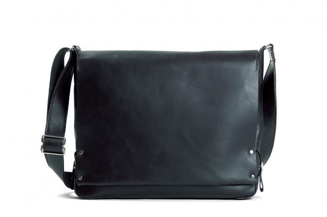 Kuriertasche 36 cm schwarz