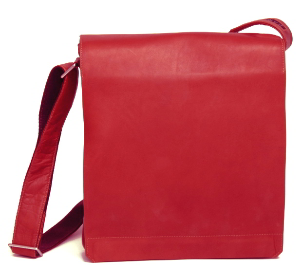 Messengerbag 31cm rot