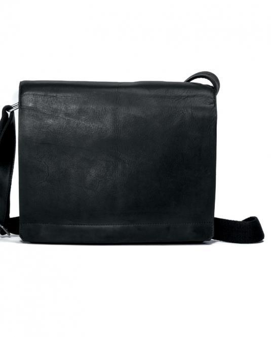 Messengerbag 29cm schwarz