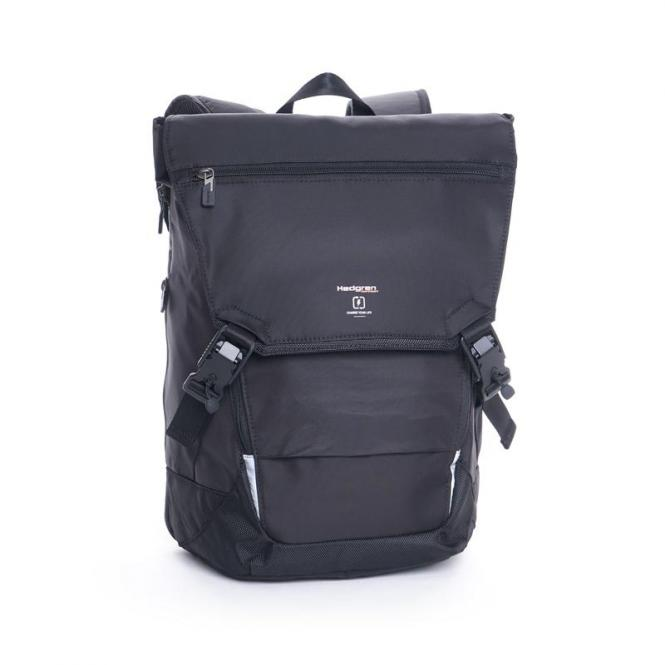 "Joint Backpack with Flap 15.6"" Black"