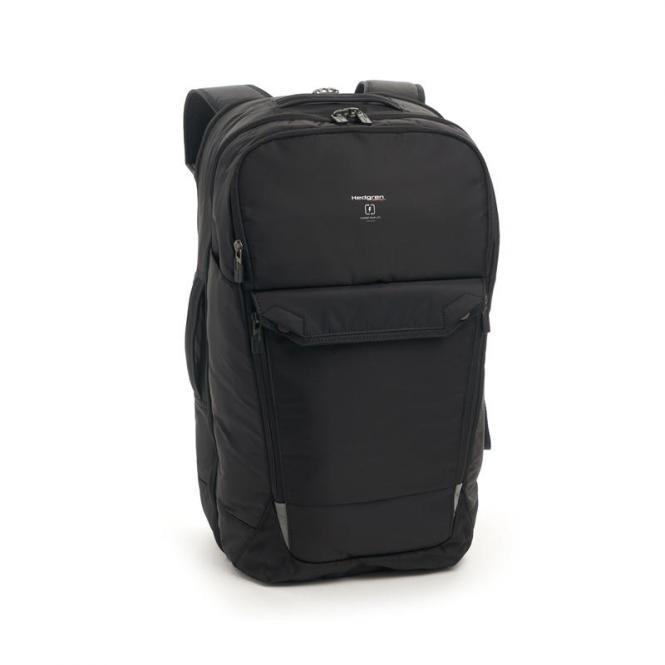"""LOOP Rucksack-Reisetasche mit Laptopfach 17"""" black"""