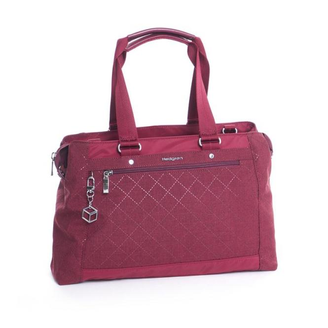 "Malachite Handbag 13"" Windsor Wine"
