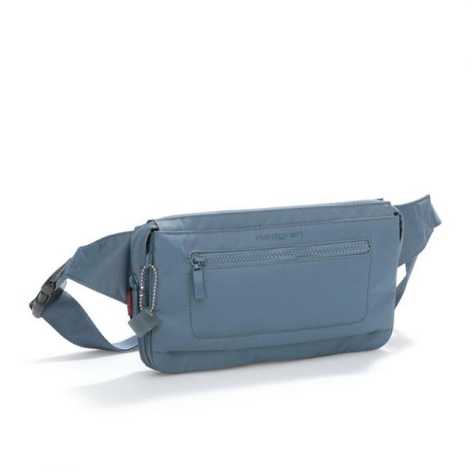 ASHARUM Hüfttasche mit RFID-Schutz Dolphin Blue