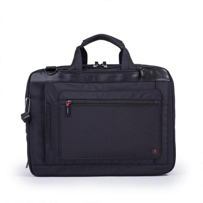 """EXPLICIT Laptoptasche 15"""" erweiterbar black"""