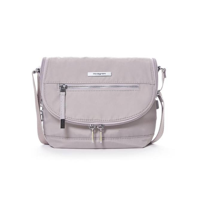 SHIMMER Crossover with flap Schultertasche Zinc