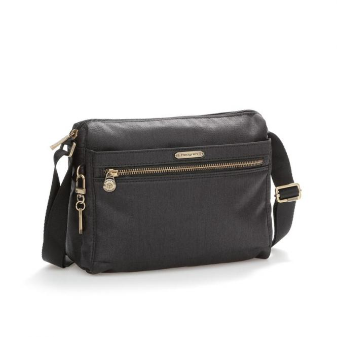 AYA Shoulder Bag jet black