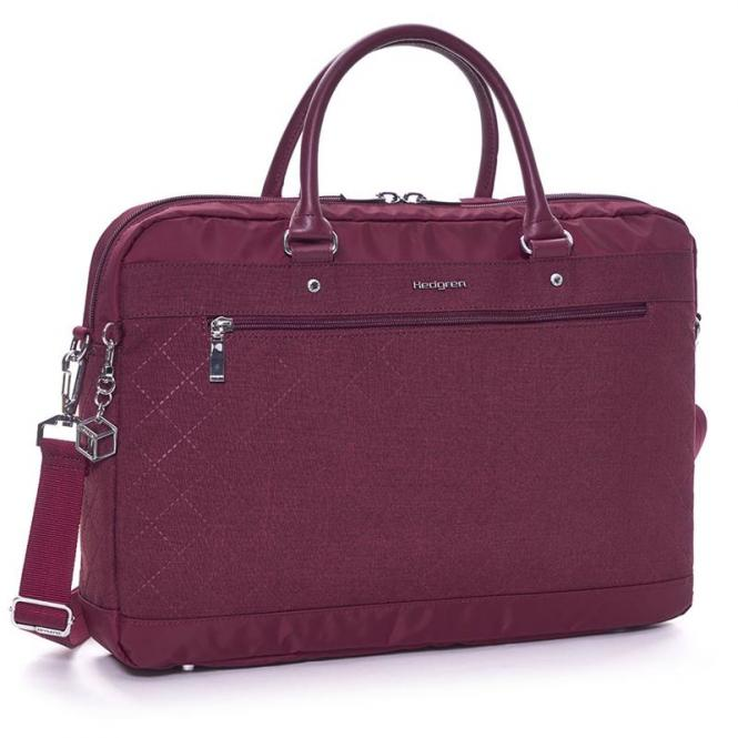 "Opal L Business bag 15.6"" Windsor Wine"