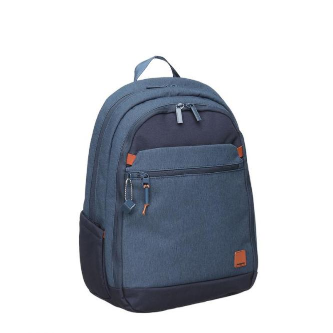 "RELEASE M Backpack Medium mit Laptopfach 14"" dark denim"
