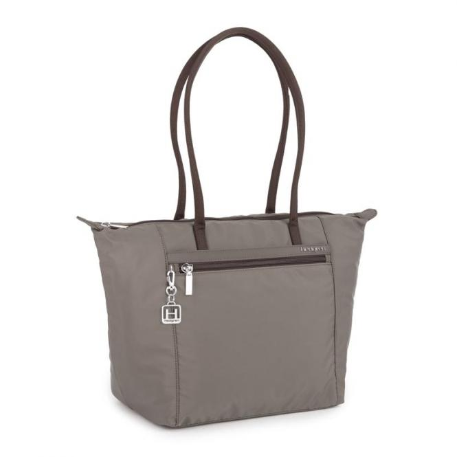 MEAGAN L Tote Large brown