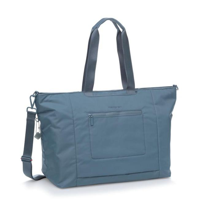 "SWING XL XL Tote mit Laptopfach 15"" Dolphin Blue"
